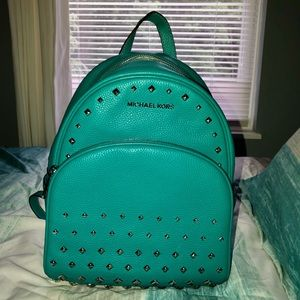 New Michael teal backpack